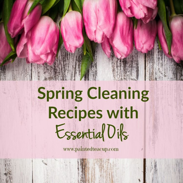 Do all of your spring cleaning with essential oils! These simple & affordable recipes give you all natural solutions for your spring cleaning!