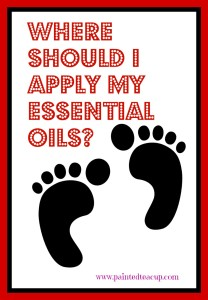 Where to Apply Essential Oils Pinterest