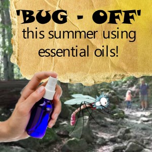 natural DIY bug repellent using essential oils www.paintedteacup.com
