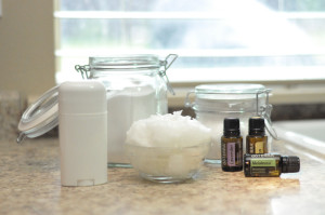 DIY Essential Oil Deoderant Stick