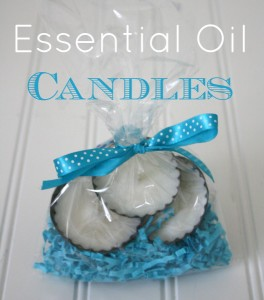 Hw to Make Candles with Essential Oils