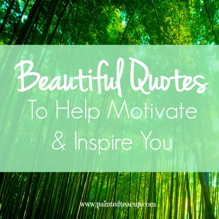 Beautiful Quotes to Help Motivate & Inspire You. Quotes about confidence, motivation, inspiration and a better tomorrow. www.paintedteacup.com
