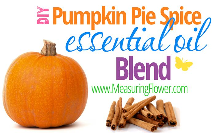 DIY Pumpkin Spice Essential Oils