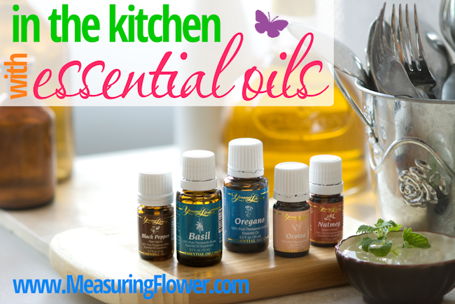 In the kitchen with essential oils