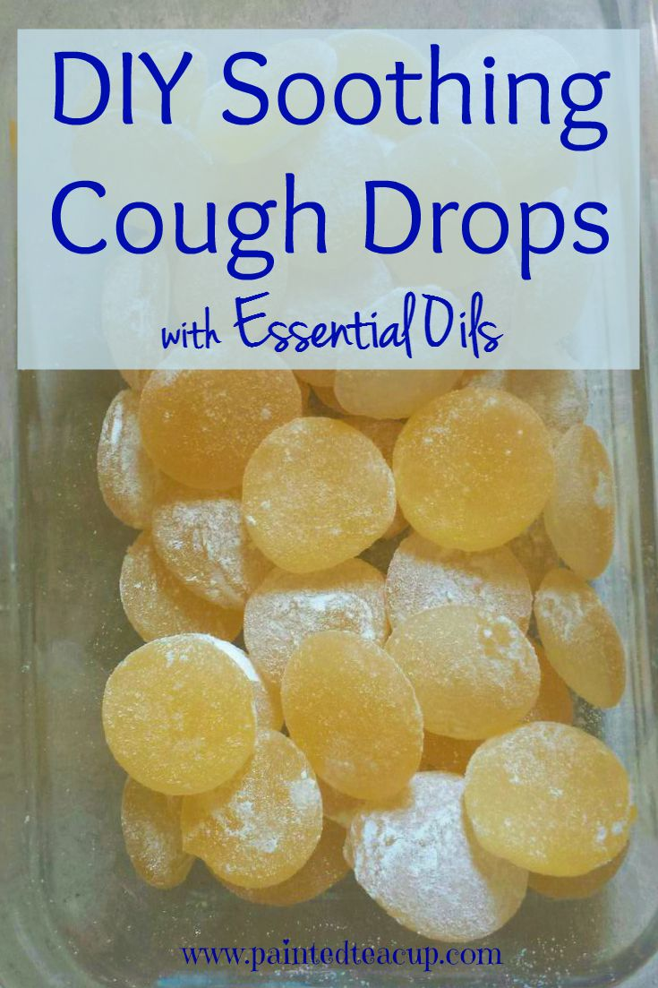 Easy Diy Soothing Cough Drops With Essential Oils