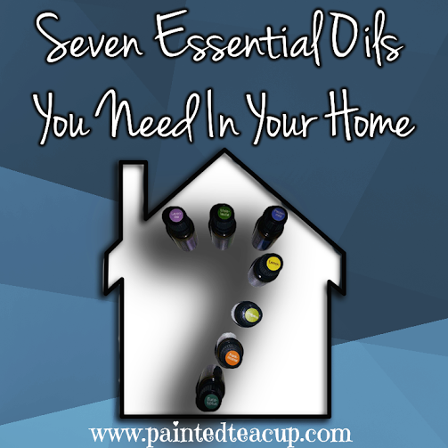 7 essential oils you need in your home and for use with your family. Plus tips on how to use them! www.paintedteacup.com