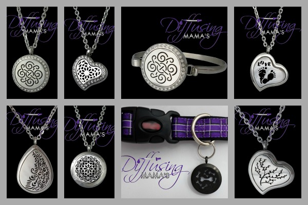 Beautiful Essential Oil Diffusing Jewelry. Perfect for the essential oil lover on your list. Essential Oil Holiday Gift Guide www.paintedteacup.com