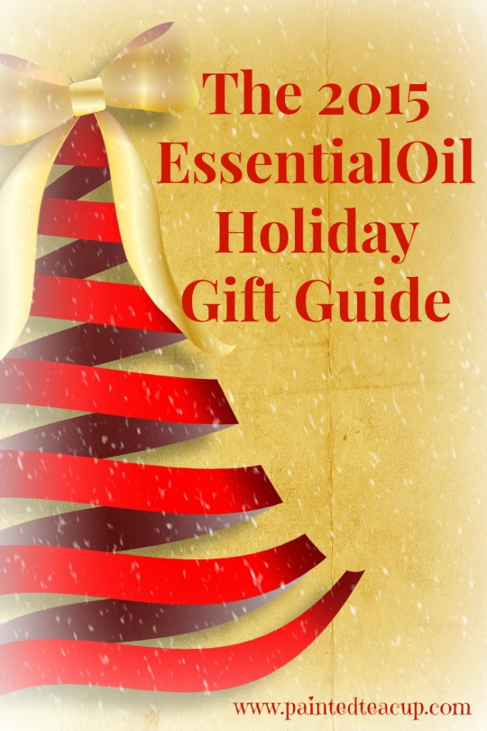 The 2015 Essential Oil Holiday Gift Guide. Store bought and homemade gifts for the essential oil lover on your list. www.paintedteacup.com