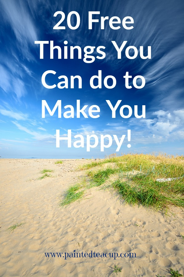 20 Free Things to Make You Happy! www.paintedteacup.com