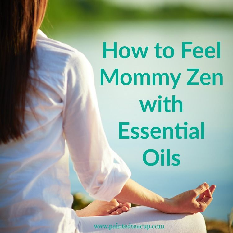 How to Feel Mommy Zen with Essential Oils. Make an easy mommy zen essential oil roller blend with bergamot! www.paintedteacup.com