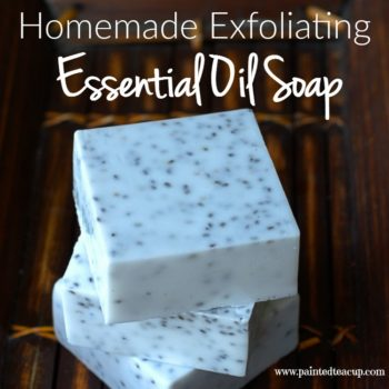 Homemade Exfoliating Soap