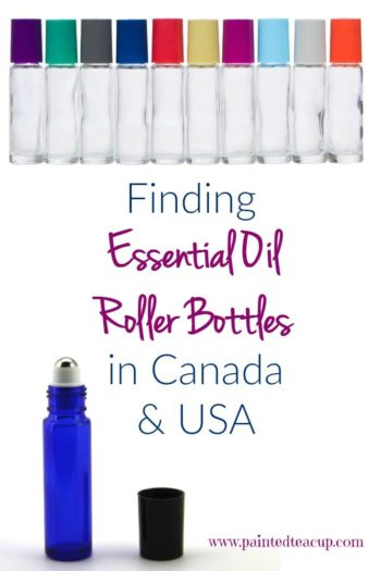 Great resources for finding places to buy essential oil roller bottles in Canada and the United States. You will also find a full list of essential oil supplies and accessories perfect for any beginner!