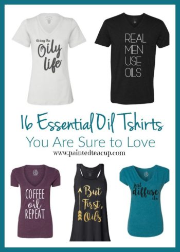 So many cute and fun essential oil tshirts that make the perfect gift for any essential oil lover's birthday or special holiday! Click to see all 16 tshirts!