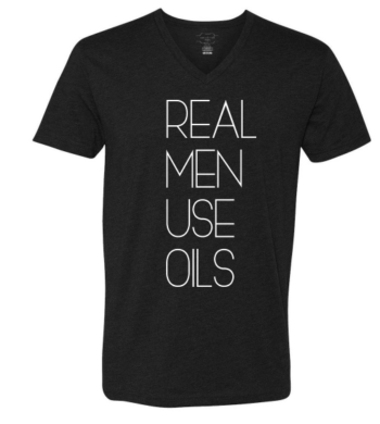 This is one of the coolest essential oil tshirts that I have seen for men! Perfect for Christmas, Father's Day and birthdays!