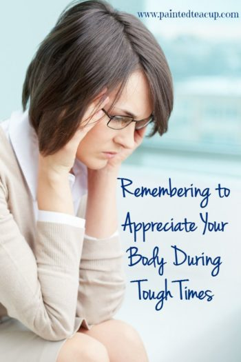 When you are living with a chronic illness it is very normal to feel frustrated with your body! This post shares tips to help you remember to appreciate your body during tough times! Click the image to read all of the tips!