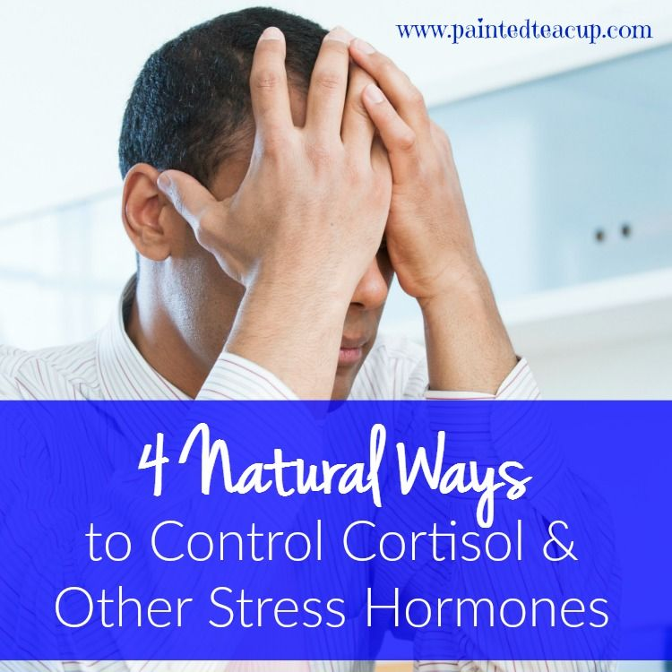 Are you trying to control your cortisol levels? Here are 4 natural ways to control cortisol and other stress hormones