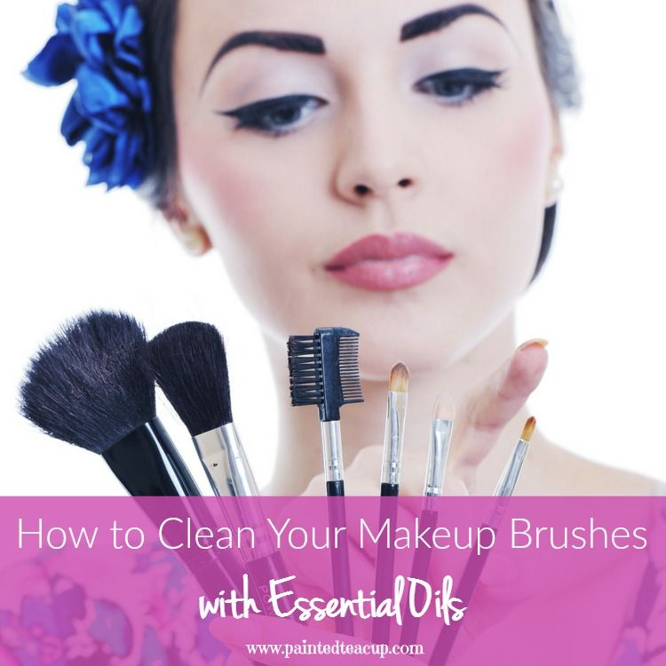 Use the super easy to make all natural recipes to clean your makeup brushes! This diy recipe with has your brushes as good as new!