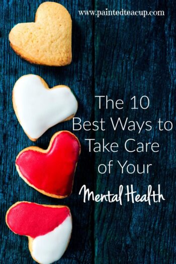 10 super actionable ways that you can take care of your mental health with research to back up the suggestions! You are important, take time for yourself!