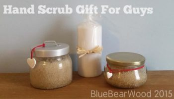 Hand sugar scrub for men- DIY Essential Oil Gifts