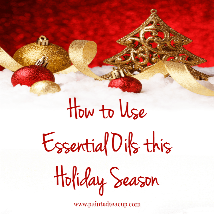 Ideas for ways that you can use essential oils during the holidays! Add Christmas into every day using these natural ideas!