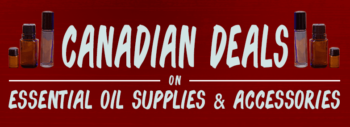 Great deals on essential oil supplies and accessories in Canada