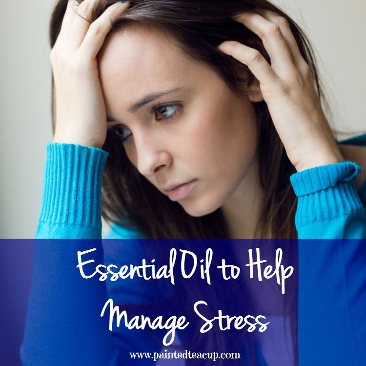 There are many essential oils that can help manage day to day stress as well as chronic stress! Learn how to naturally manage stress with these oils!