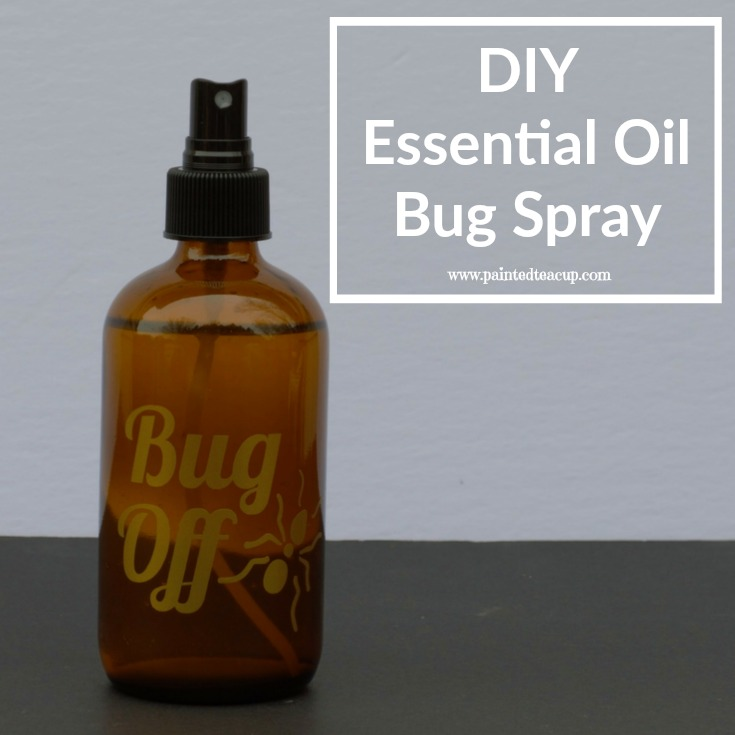All-natural DIY essential oil bug spray using cedarwood and lemongrass essential oils! Perfect for repelling mosquitos, black flies & more!