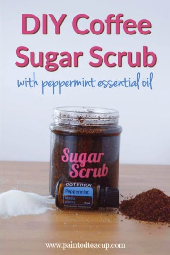 Smooth and soften your skin with this affordable all-natural peppermint coffee sugar scrub! Get the video & the easy to follow recipe video!