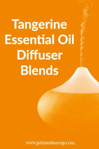 5 energizing and uplifting tangerine essential oil diffuser blends! You are going to love these fresh and clean diffuser scents!
