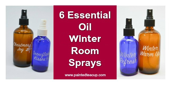 Easy & affordable DIY essential oil room spray recipes to make your home smell wonderful all winter long! These make great essential oil gifts too! DIY Essential Oil Room Sprays | Essential Oil Gift Idea | Natural Air Freshener #essentialoils #roomspray #diy