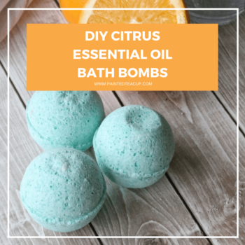 Beautiful essential oil bath bombs made with grapefruit and wild orange essential oils! These bath bombs make a great DIY gift for any occasion! #essentialoilbathbomb #essentialoildiy All natural essential oil bath bomb recipe | Essential oil DIY | Essential Oil Gift Idea