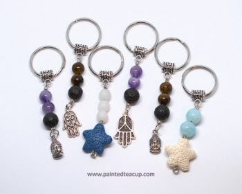 Essential Oil Diffusing Keychains
