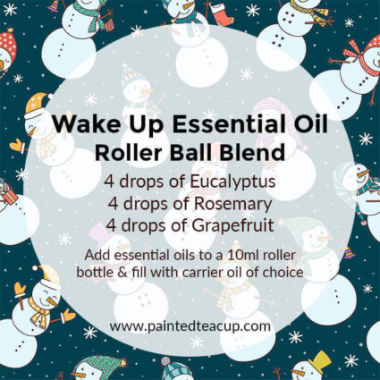 5 easy & affordable essential oil roller bottle blends that are perfect for the holidays! Make these blends for yourself or give them as a Christmas gift!