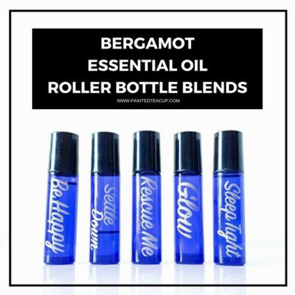 5 wonderful bergamot roller bottle blends to elevate, inspire and compliment your lifestyle! Each recipe uses bergamot essential oil and a few others too! #rollerbottleblend #bergamot #bergamotessentialoil #essentialoils #rollerball #rollerballrecipe #diy #essentialoilrecipe #diyrollerbottlerecipe