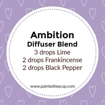 Ambition Diffuser Blend, If you LOVE frankincense essential oil then I have you covered! Here are 25 amazing frankincense diffuser blends to make your home smell wonderful!