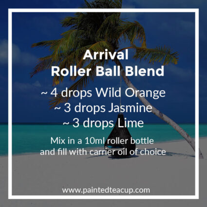 Arrival Roller Ball Blend, Heading to the beach this summer? Here are 10 amazing essential oil roller ball blends that you want to pack with you! They are easy & affordable to make!