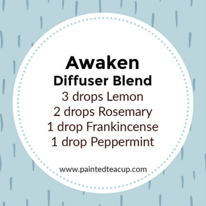 Awaken Diffuser Blend, If you LOVE frankincense essential oil then I have you covered! Here are 25 amazing frankincense diffuser blends to make your home smell wonderful!