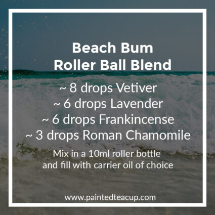 Beach Bum Roller Ball Blend, Heading to the beach this summer? Here are 10 amazing essential oil roller ball blends that you want to pack with you! They are easy & affordable to make!