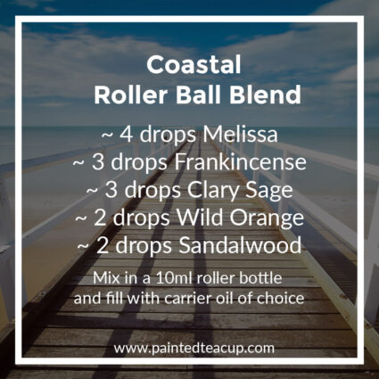 Coastal Roller Ball Blend, Heading to the beach this summer? Here are 10 amazing essential oil roller ball blends that you want to pack with you! They are easy & affordable to make!