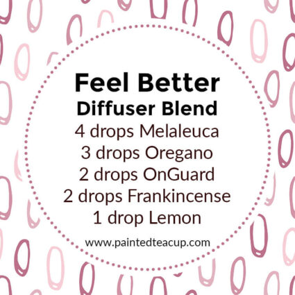 Feel Better Diffuser Blend, If you LOVE frankincense essential oil then I have you covered! Here are 25 amazing frankincense diffuser blends to make your home smell wonderful!