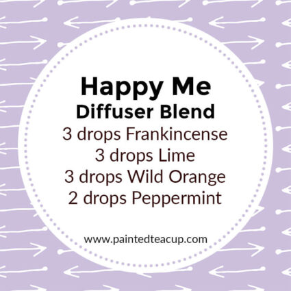 Happy Me Diffuser Blend, If you LOVE frankincense essential oil then I have you covered! Here are 25 amazing frankincense diffuser blends to make your home smell wonderful!