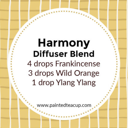 Harmony Diffuser Blend, If you LOVE frankincense essential oil then I have you covered! Here are 25 amazing frankincense diffuser blends to make your home smell wonderful!