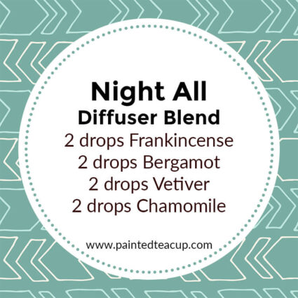 Night All Diffuser Blend, If you LOVE frankincense essential oil then I have you covered! Here are 25 amazing frankincense diffuser blends to make your home smell wonderful!