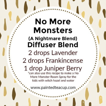 No More Monsters Diffuser Blend, If you LOVE frankincense essential oil then I have you covered! Here are 25 amazing frankincense diffuser blends to make your home smell wonderful!