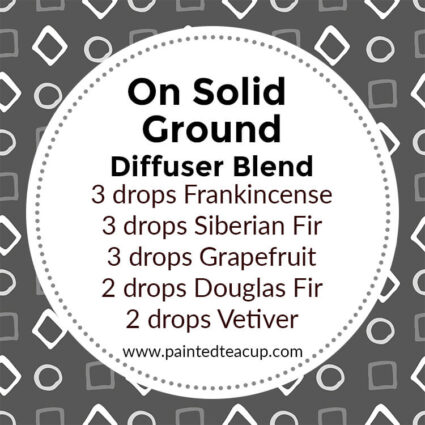 On Solid Ground Diffuser Blend, If you LOVE frankincense essential oil then I have you covered! Here are 25 amazing frankincense diffuser blends to make your home smell wonderful!