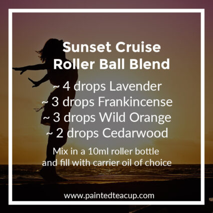 Sunset Cruise Roller Ball Blend, Heading to the beach this summer? Here are 10 amazing essential oil roller ball blends that you want to pack with you! They are easy & affordable to make!