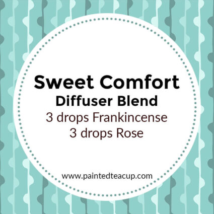Sweet Comfort Diffuser Blend, If you LOVE frankincense essential oil then I have you covered! Here are 25 amazing frankincense diffuser blends to make your home smell wonderful!
