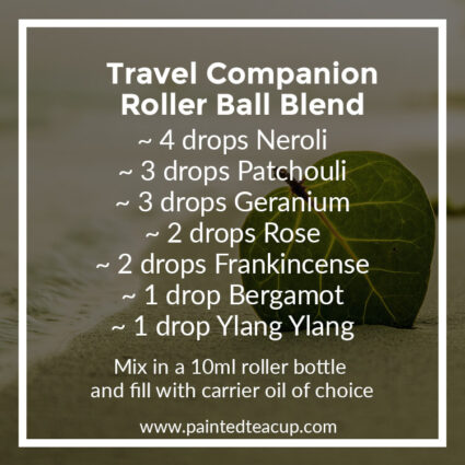 Travel Companion Roller Ball Blend, Heading to the beach this summer? Here are 10 amazing essential oil roller ball blends that you want to pack with you! They are easy & affordable to make!