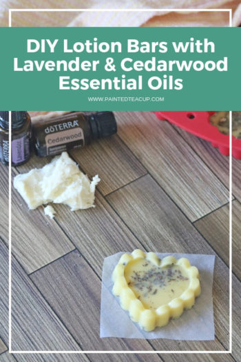 These DIY lotion bars are a super easy homemade essential oil project that's perfect for gift giving or pampering yourself! Great for Christmas and more! #essentialoils #lotionbars #diygift #lavender