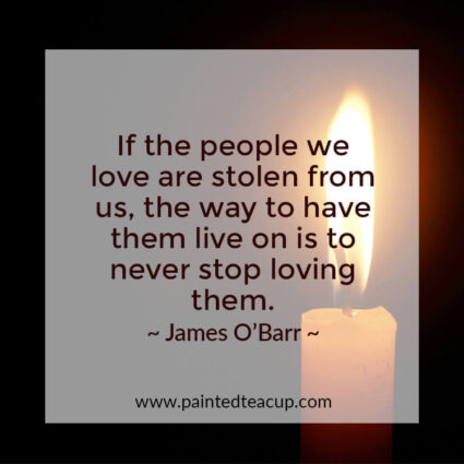 Here are 10 grief quotes to help comfort you after the loss of a loved one! #quote #griefquote #lossquote
